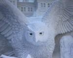 Саппоро фестиваль снежных скульптур 4
