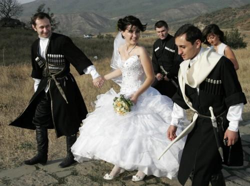 грузия свадьба