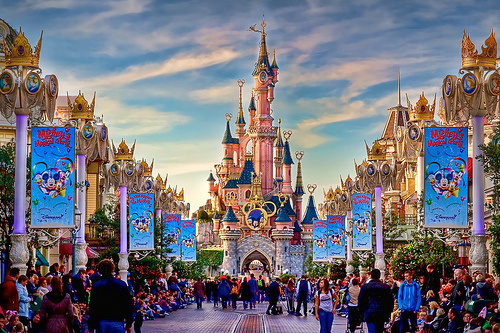 Disneyland Resort Paris, Marne la Vallée, France