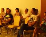 Все внимательно слушают выступление